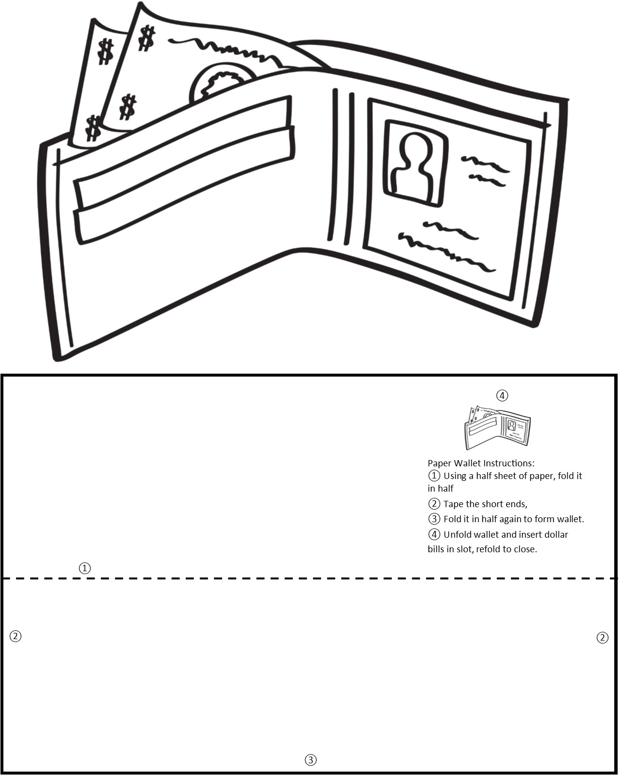Wallet Graphic/Template