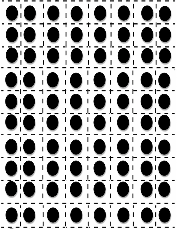 Dots To Mark Squares
