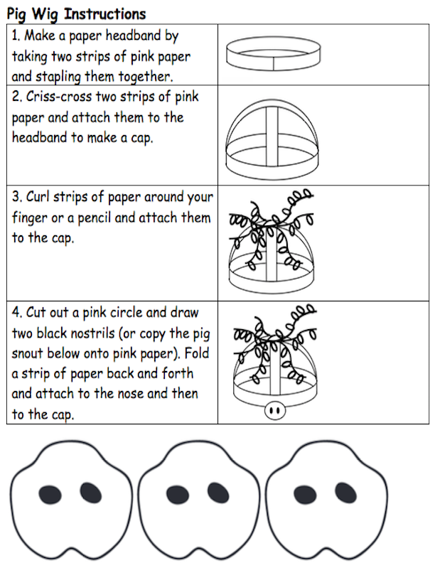 Pig Wig Instructions
