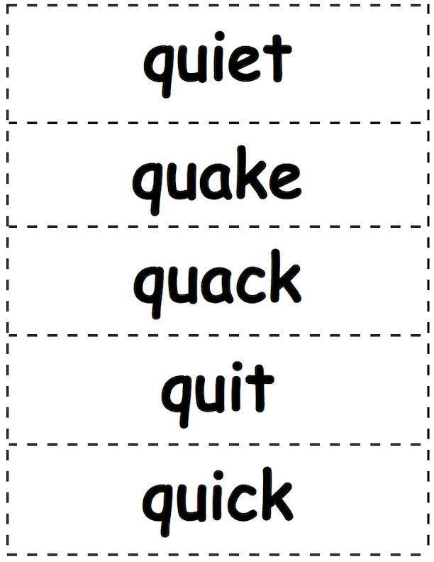 Q Action Cards