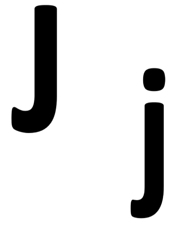 J and j for Jar