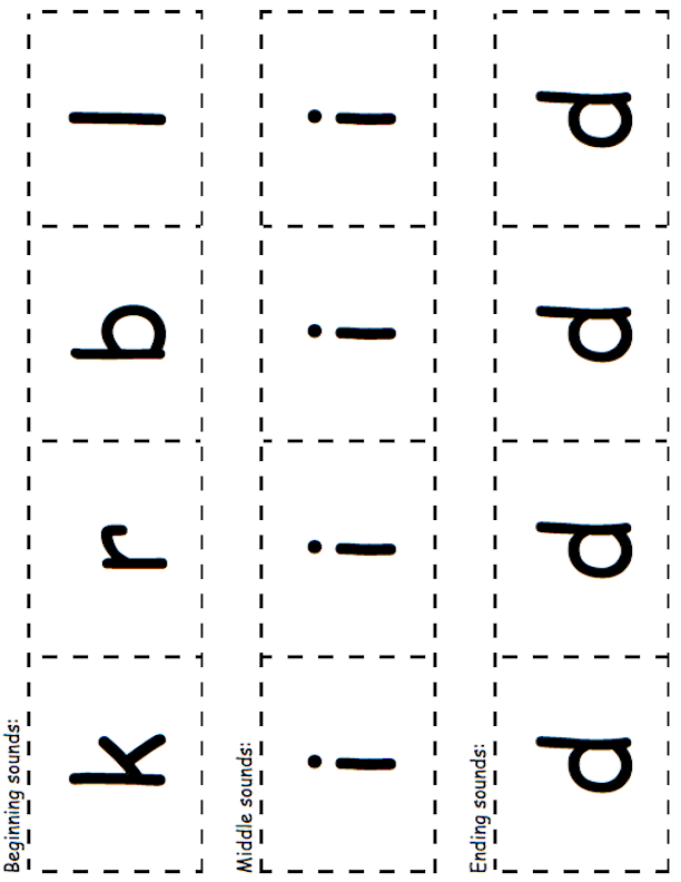 -id Letter Cards