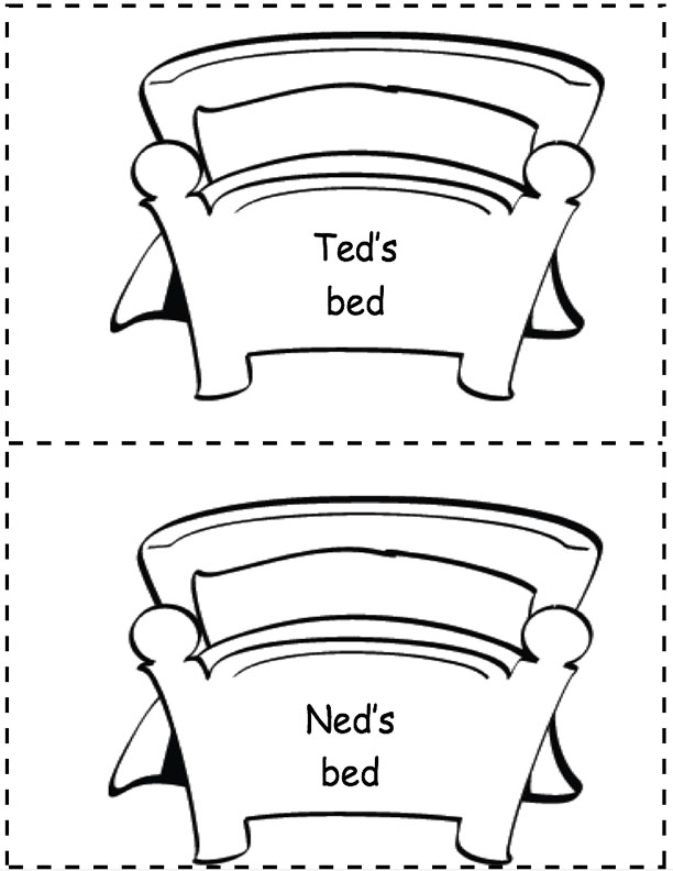 Ned's and Ted's Beds