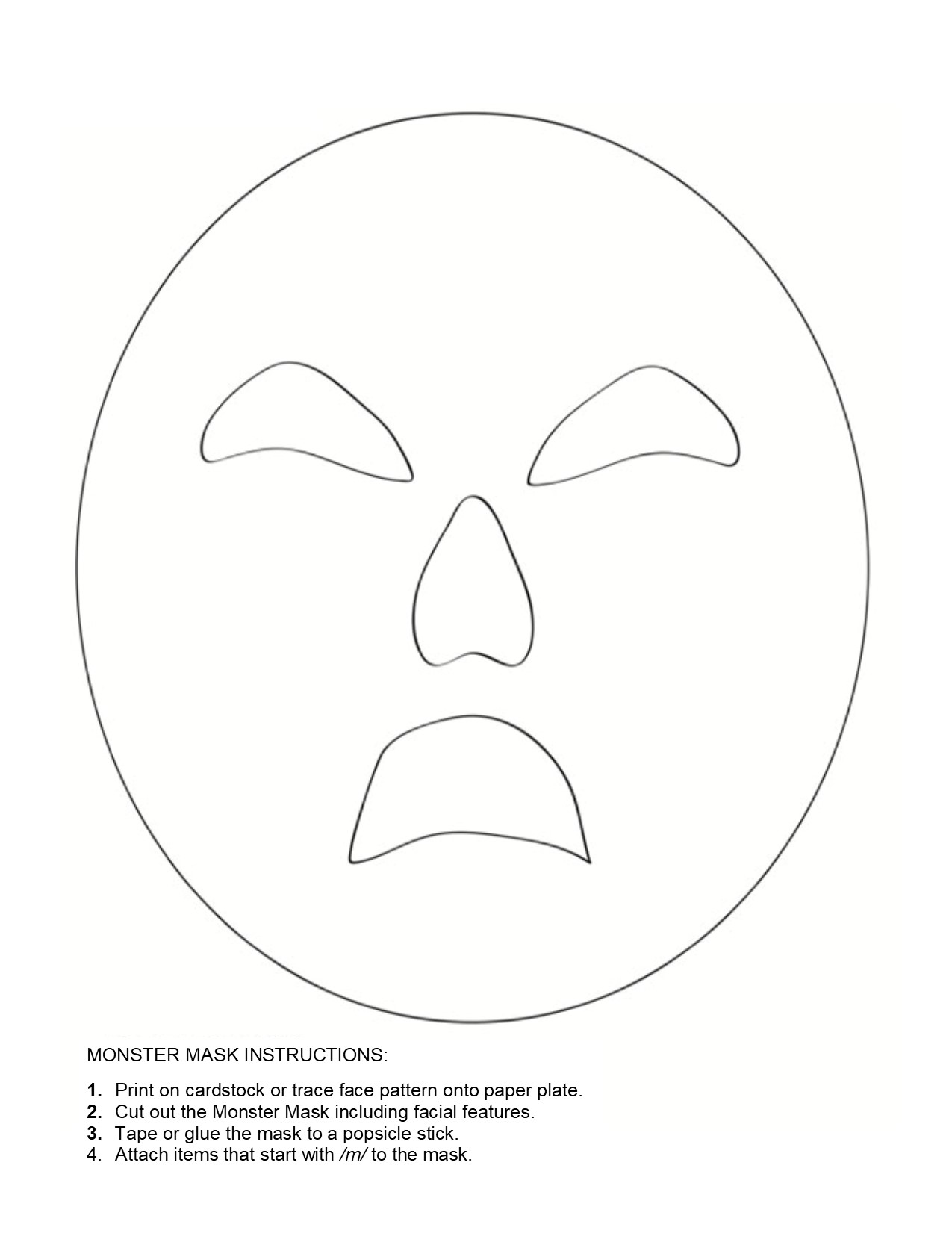 Mask Template