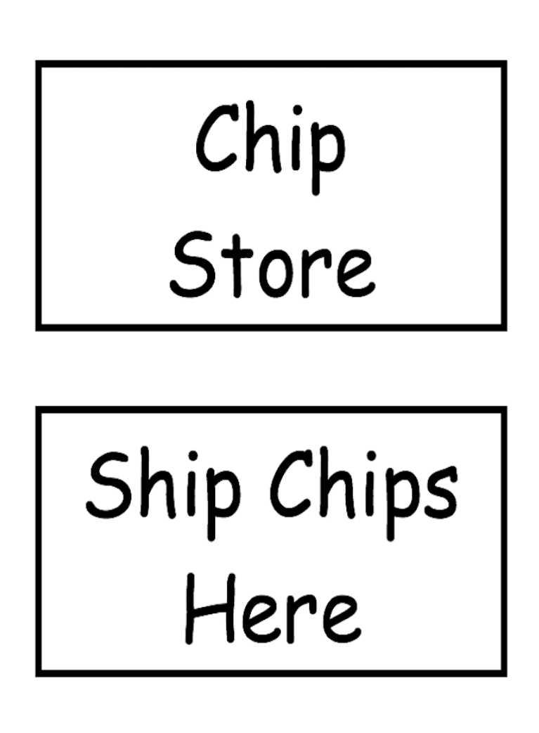 Chip signs