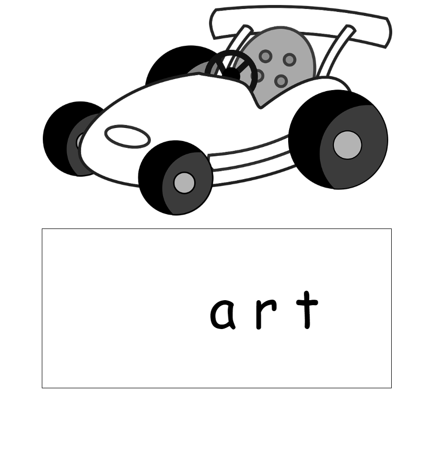 Go-cart and -art sign