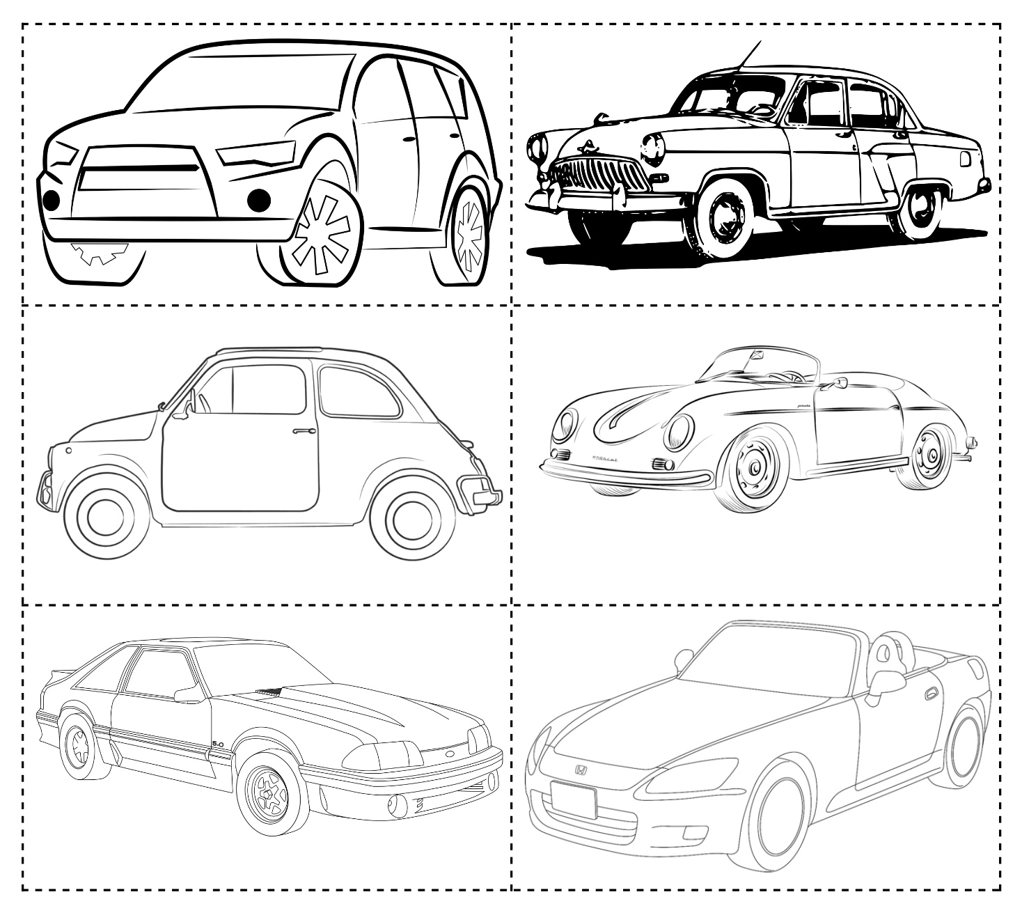 Pictures of cars