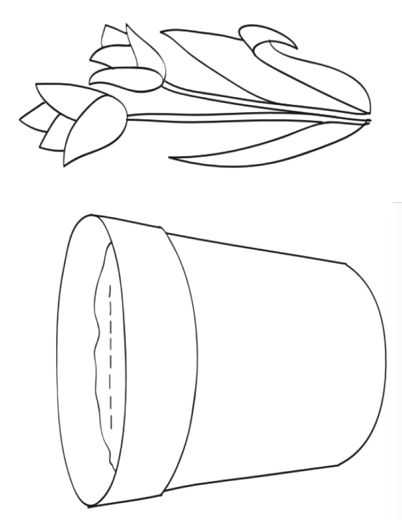 Pot and plant