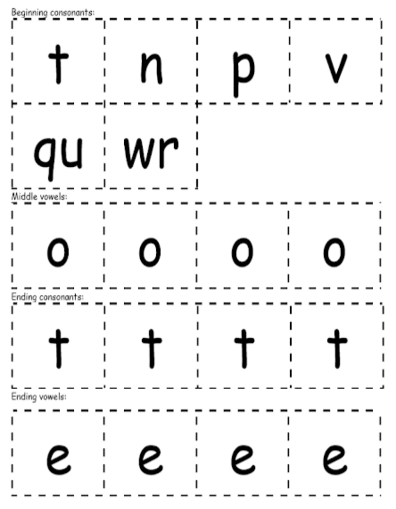 Tote word building