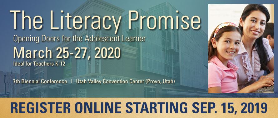Literacy Promise 2020 Conference, March 25-27