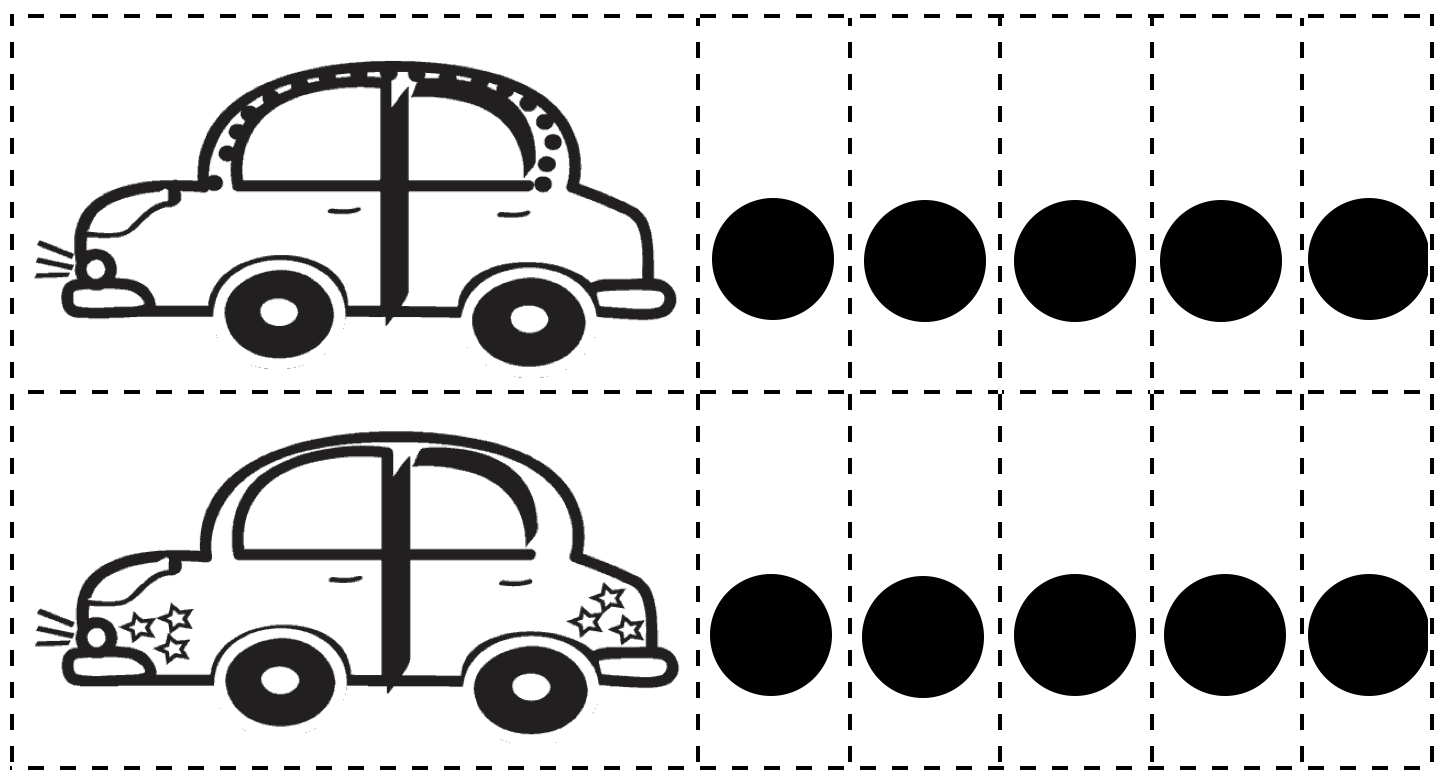 car-dot-pieces