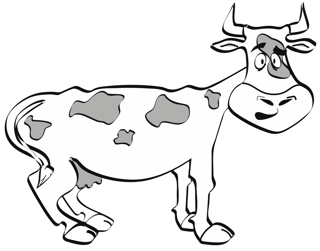 Cow-Graphic