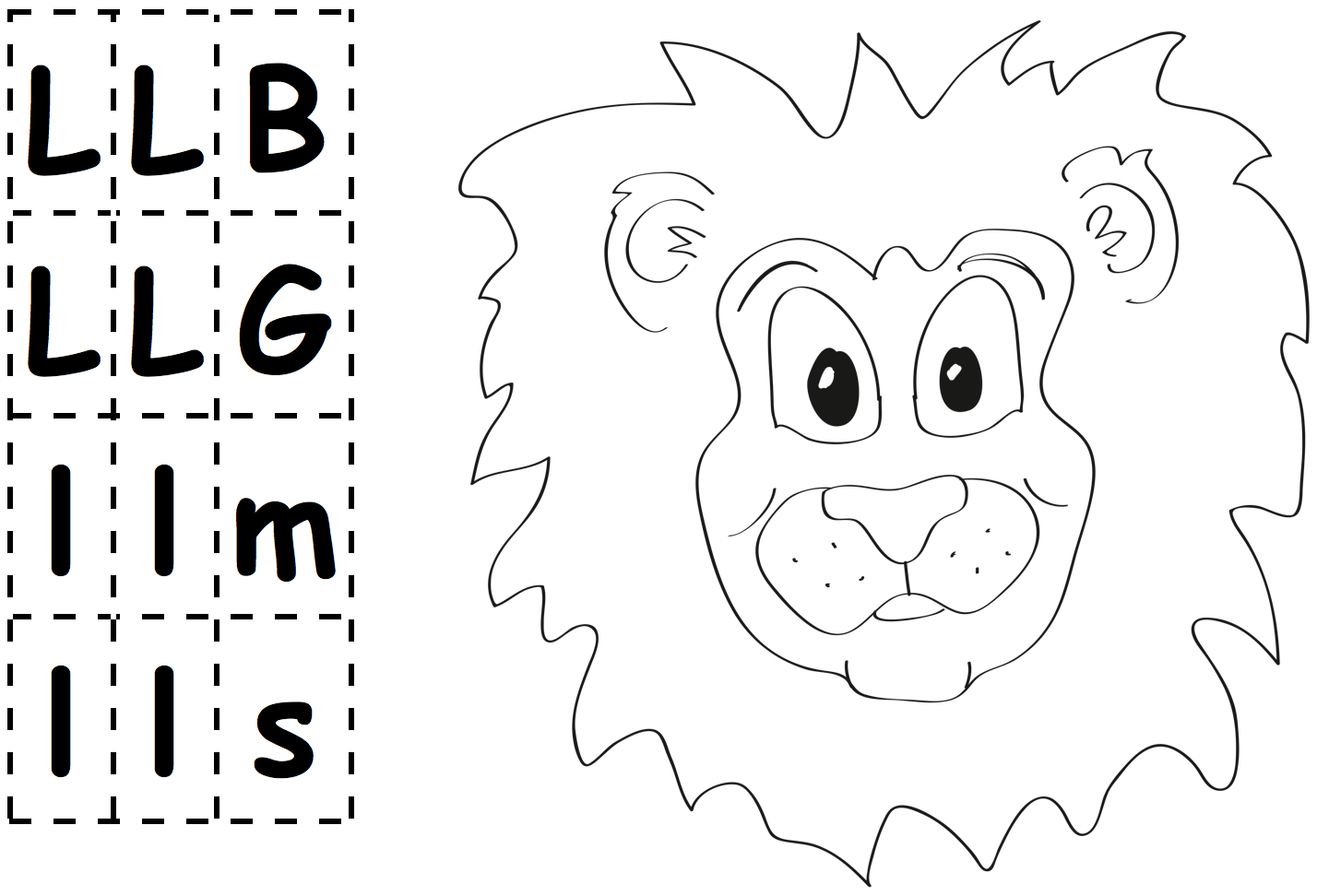 Letter-Cards-and-Leo-Lion-picture
