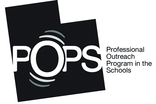 Professional Outreach Program in the Schools logo.