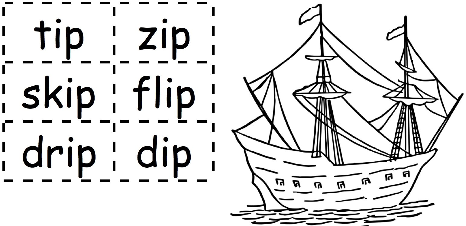 Paper-Ship-word-cards