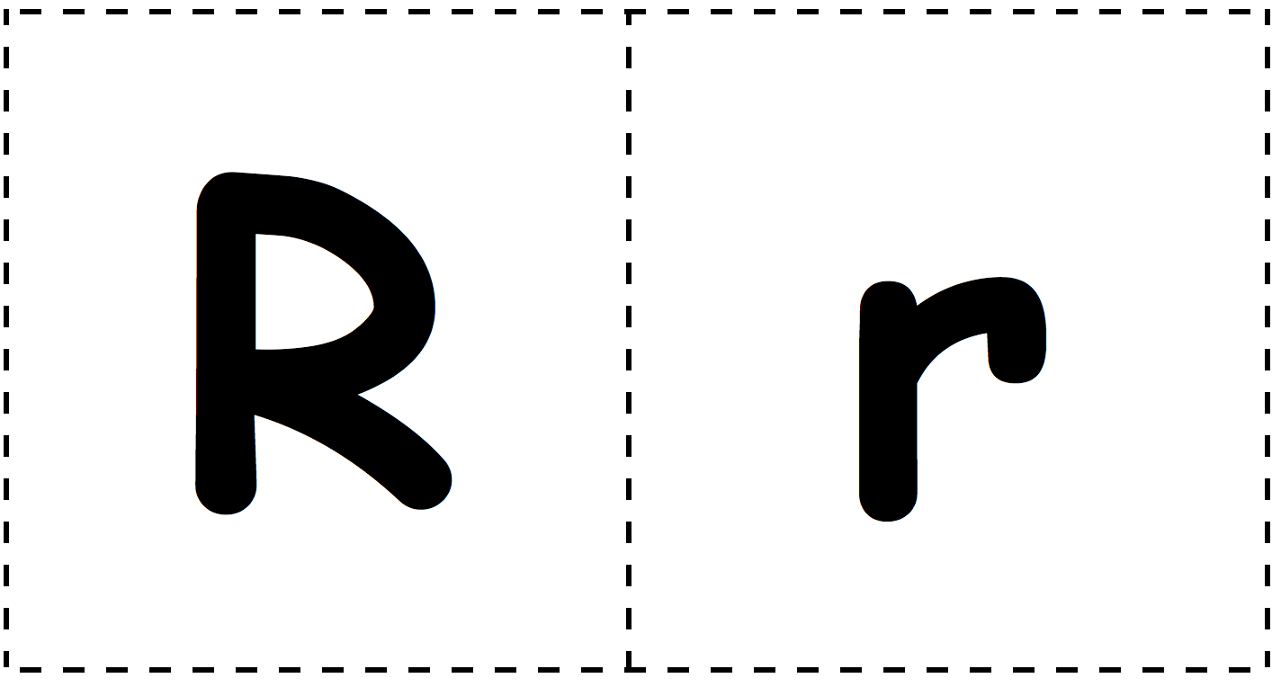R-r-Letter-Cards