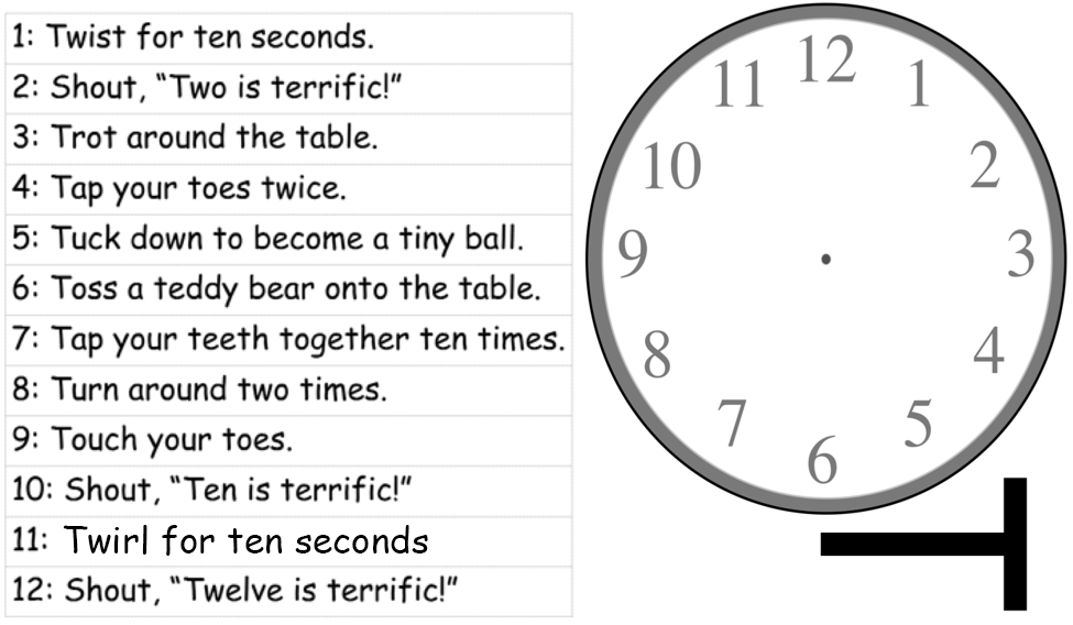 T Clock and T Actions