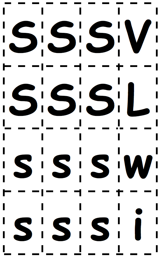 S-Letter-Cards
