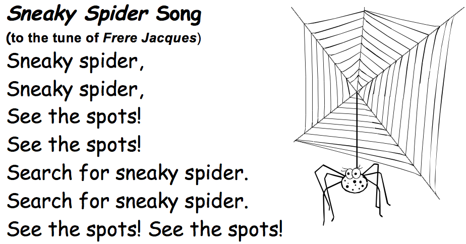 Sneaky-Spider-song