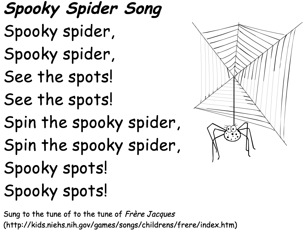 Spooky-Spider-song