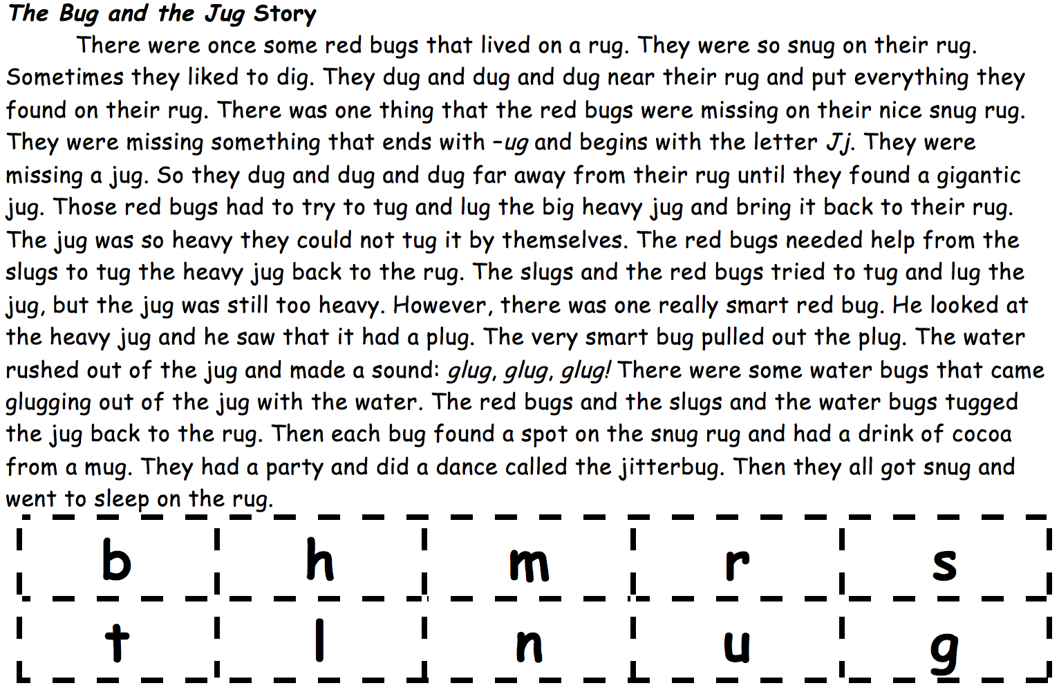 bug-and-jug-story-and-letter-cards