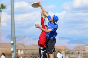 Aside from spending his time researching, Bodily is on BYU's ultimate frisbee team