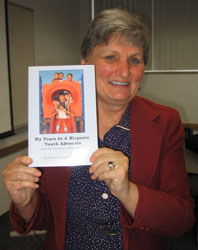 Barbara Lovejoy and her book: My Years as a Hispanic Youth Advocate and the Lessons I Have Learned.