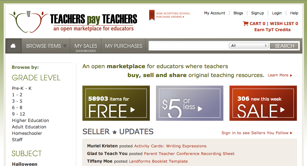 dating websites for teachers
