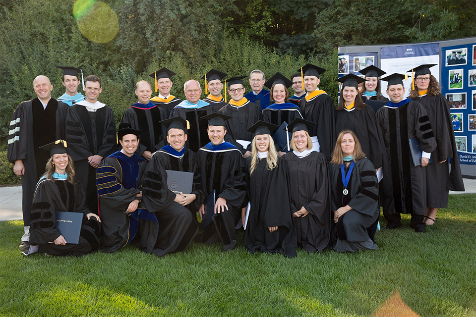 The IP&T department at graduation