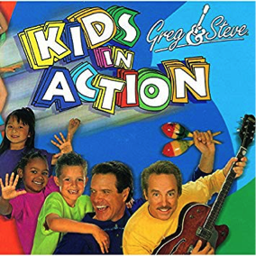 Kids in Action album cover